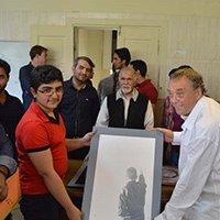 بازدید نقاش شهیر آلمانی